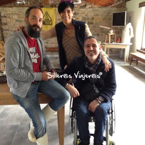Con Álvaro, el chico para todo de La Jarradilla