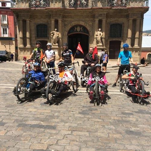 En la plaza del Ayuntamiento de Pamplona