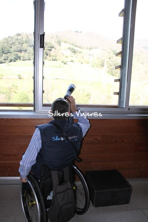 Vistas desde el Centro de Interpretación del Parque Nacional de los Picos de Europa en Tama