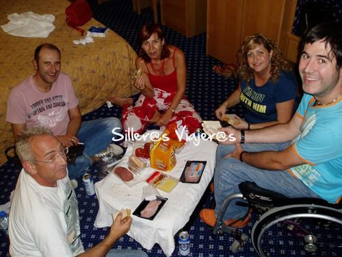 De picnic en el hotel