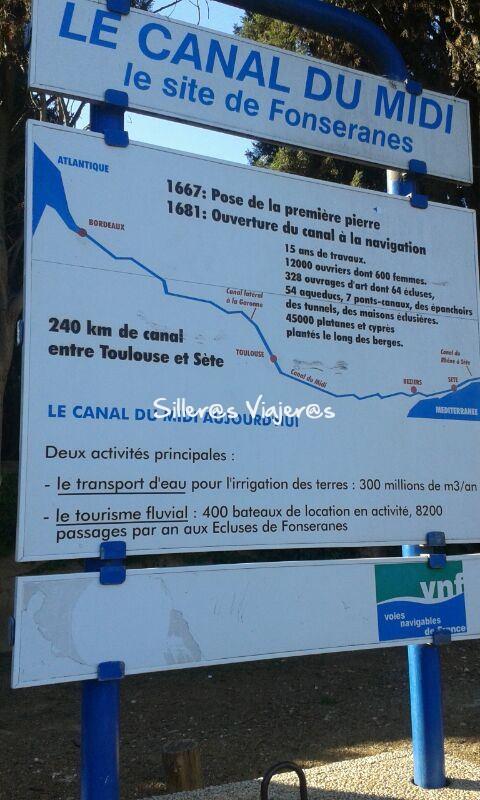 Le Canal Du Midi, le site de Fonseranes