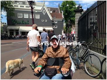 De turismo por Amsterdam
