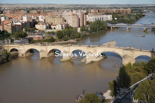 Vistas desde lo alto de Zaragoza