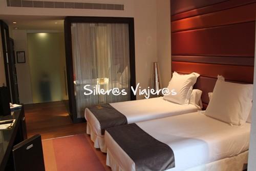 Habitación del Hotel Barceló Oviedo Cervantes