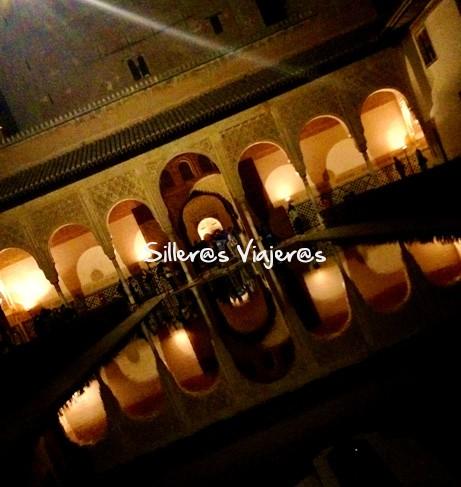 Patio del hotel Conquista de Granada