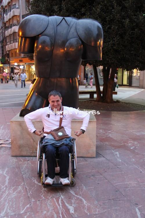 Escultura por las calles de la ciudad