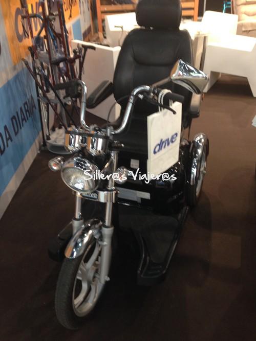 Scooter en forma de Chopper