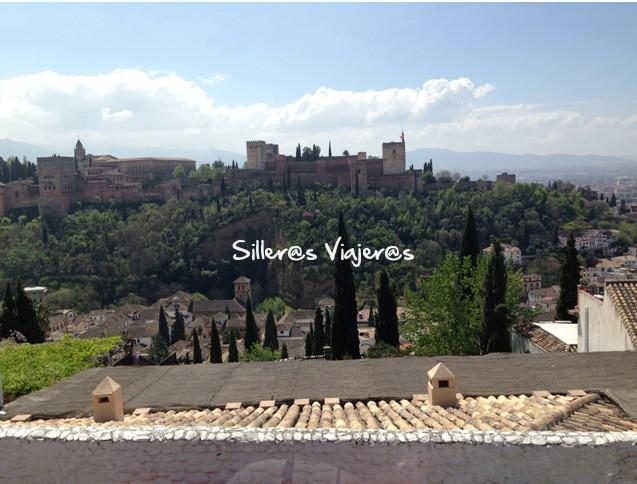 Vistas a la Alhambra desde el mirador de San Nicolás