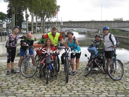 Quedada con bicis y handbikes semieléctricas