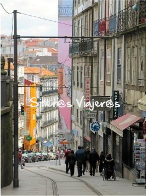 Calles empinadas de la ciudad