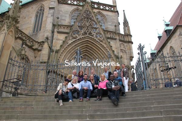 Escalinata Catedral ST Mary´s de Erfur