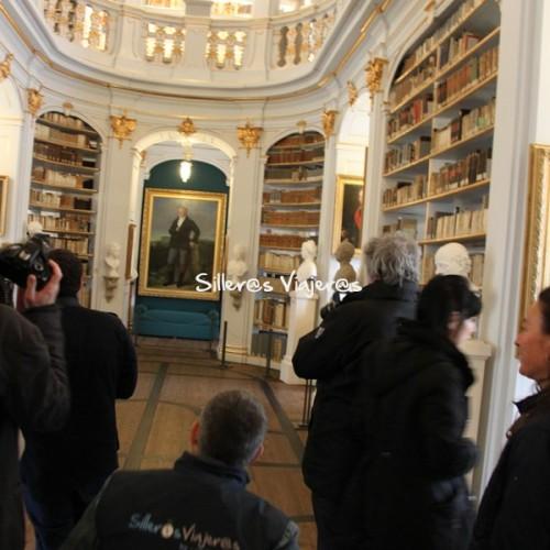 Interior accesible Biblioteca Anna Amalia de Weimar