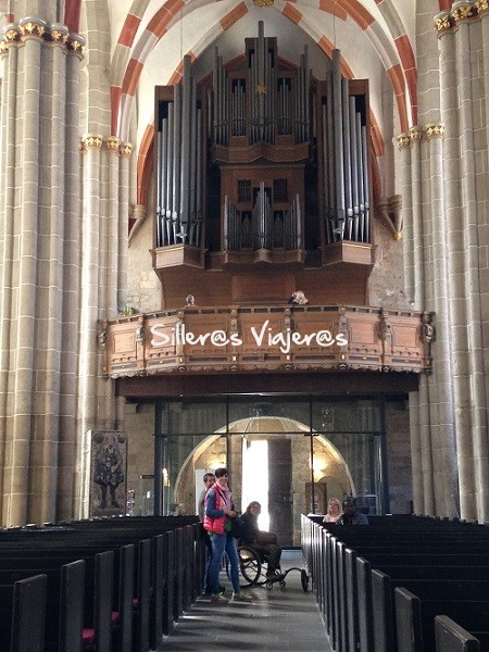 Iglesias con órganos impresionantes