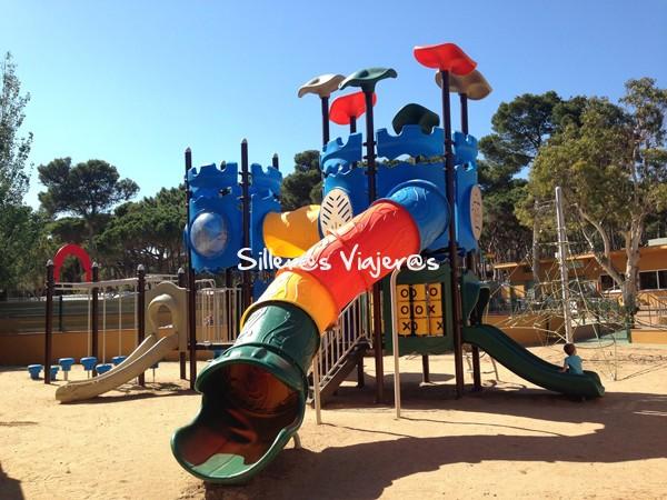 Parque del camping para niños
