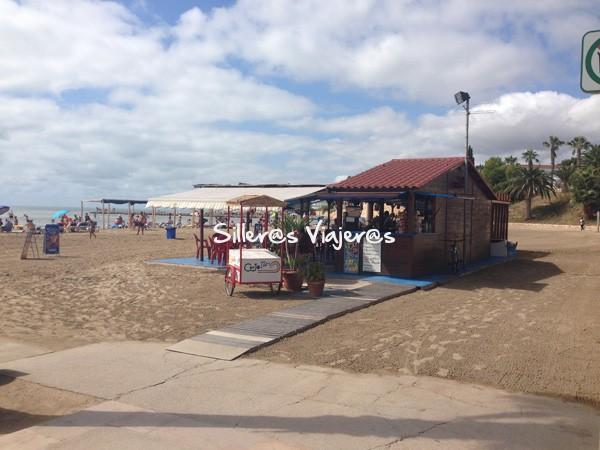 Chiringuito de la playa accesible.