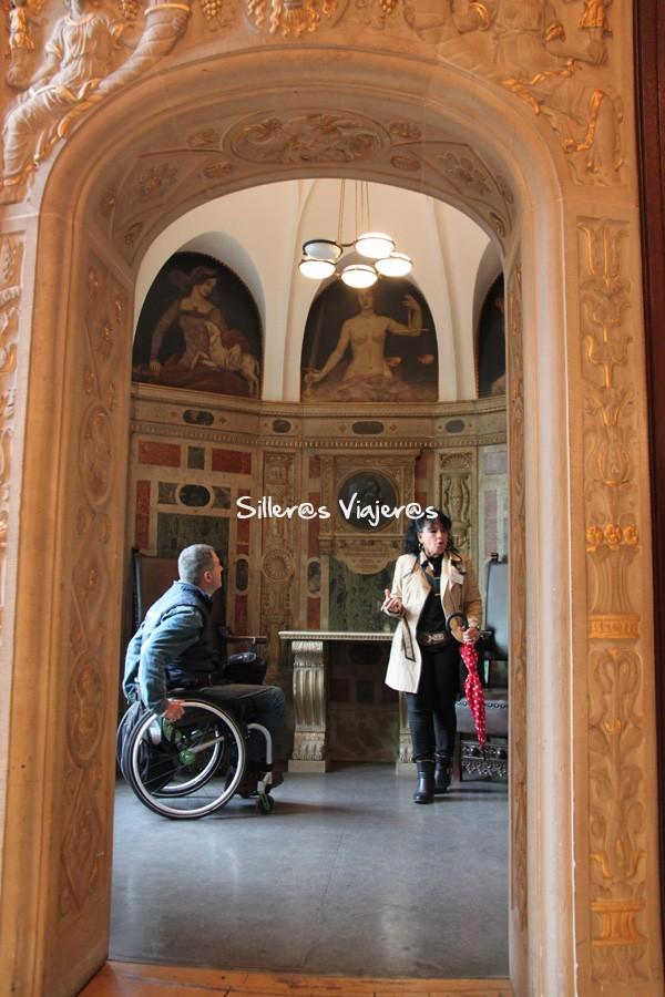 Interior del ayuntamiento