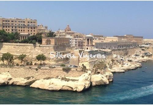 Costa de Malta desde el Crucero