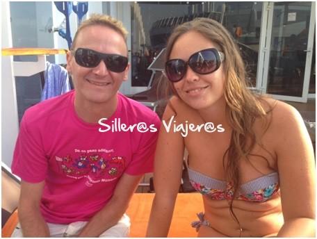 amigos de crucero por el Mediterraneo