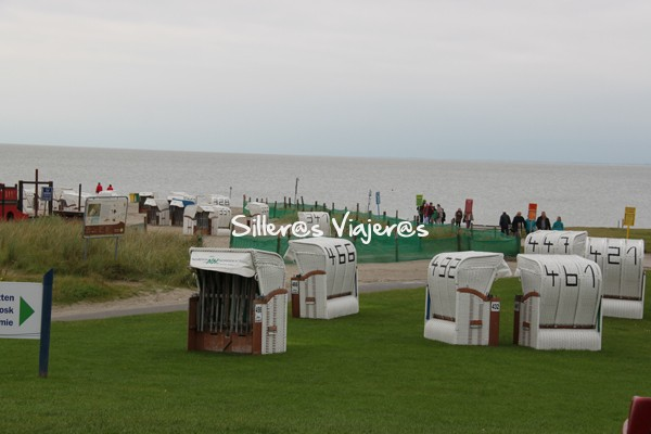 Casetas de la playa de Norden Nordick