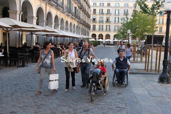 Con la guía por Girona