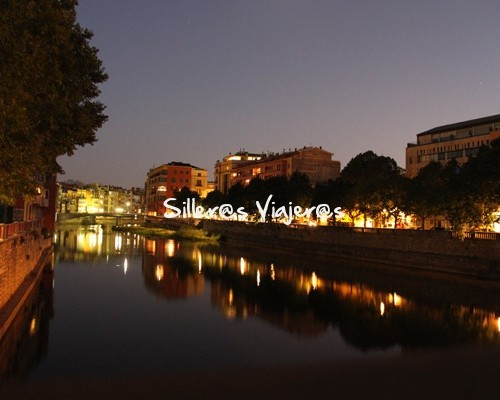 Girona accesible de noche