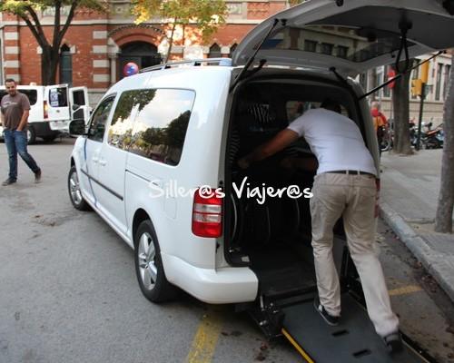 Taxi adaptado en Girona