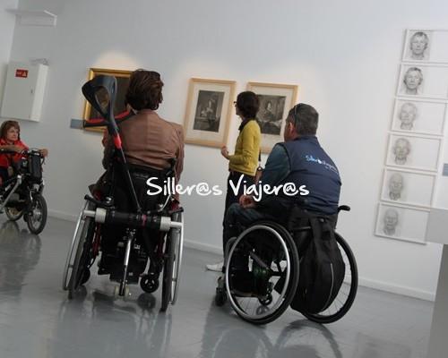 Museo del arte de Perpignan en silla de ruedas