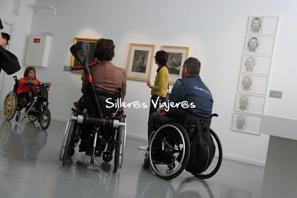 Visitas a exposiciones