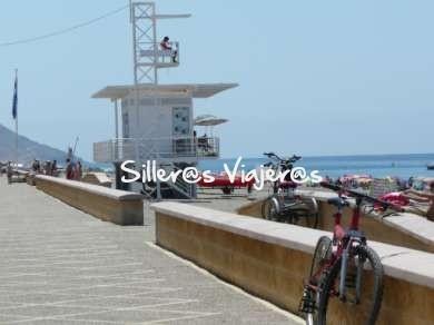 torre socorrista playa adaptada Cabo de Gata