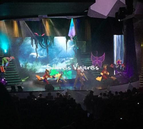 teatro en crucero adaptado por el Mediterráneo