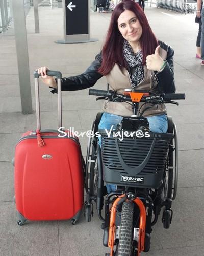 aeropuerto de dublin con mi silla de ruedas