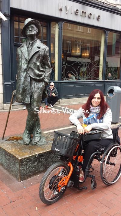 Estatua de James Joyce