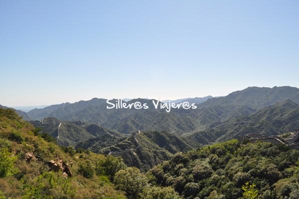Verdes paisajes de Pekín.