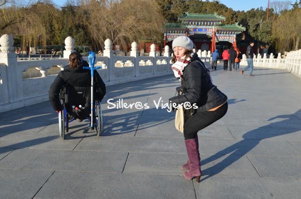Callejeando por las calles de Pekín, accesible.
