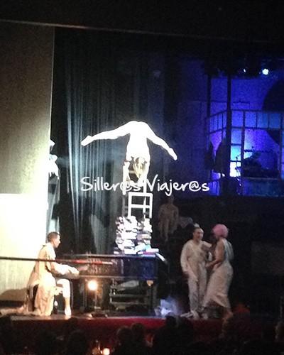 Obra de teatro en Wintergarten