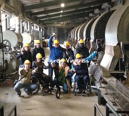 foto de grupo en Minas de Rammelsberg