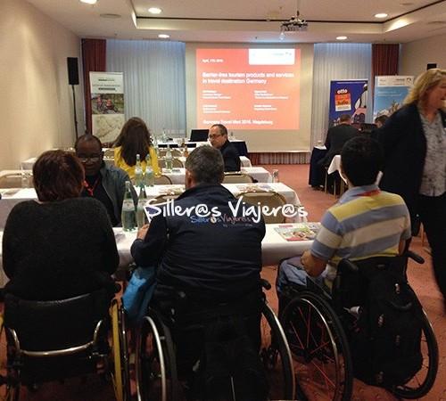 Conferencia de turismo accesible en GTM 2016