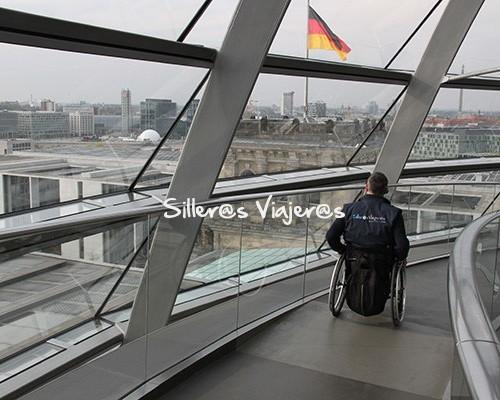 Vistas desde la cúpula del Reichstag