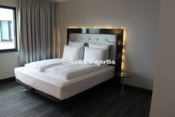 Dormitorio del hotel Innside by Melia Wolfsburg