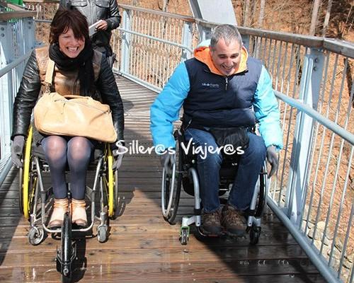 Canopy accesible para silla de ruedas en el Parque Nacional de Harz