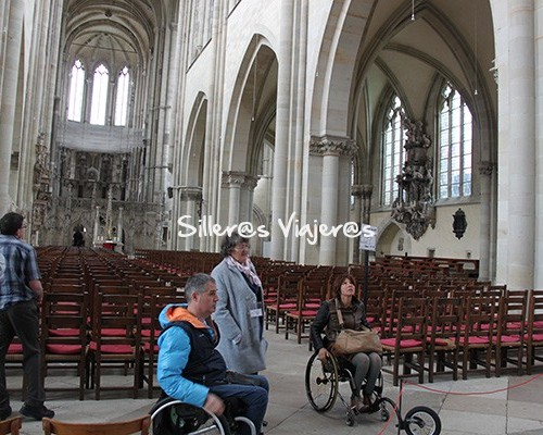 Catedral de Magdeburgo en silla de ruedas