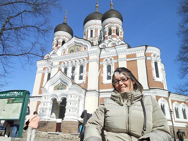Visita en San Petersburgo.