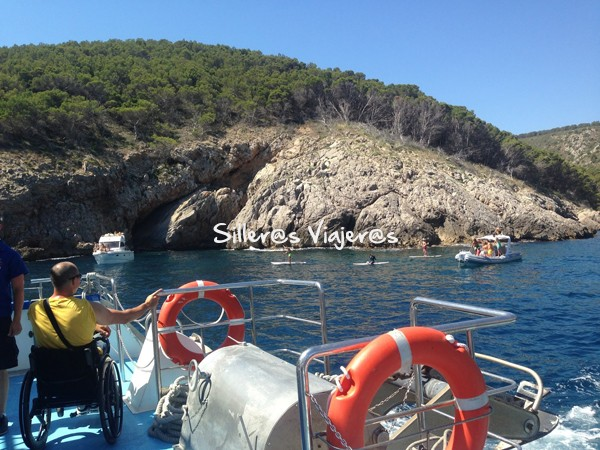 Excursión accesible a las Islas Medas.