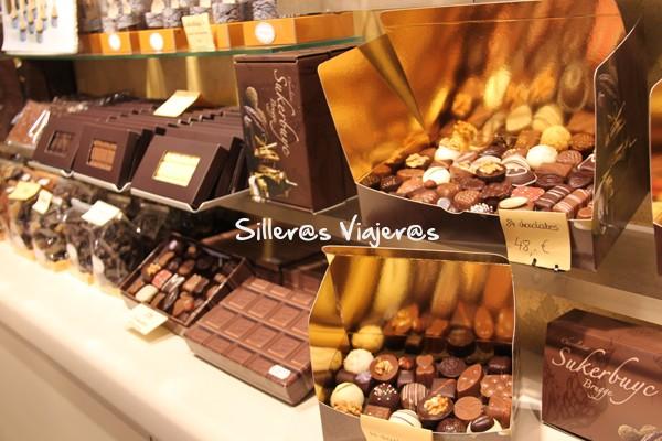 Rincones llenos de chocolate.