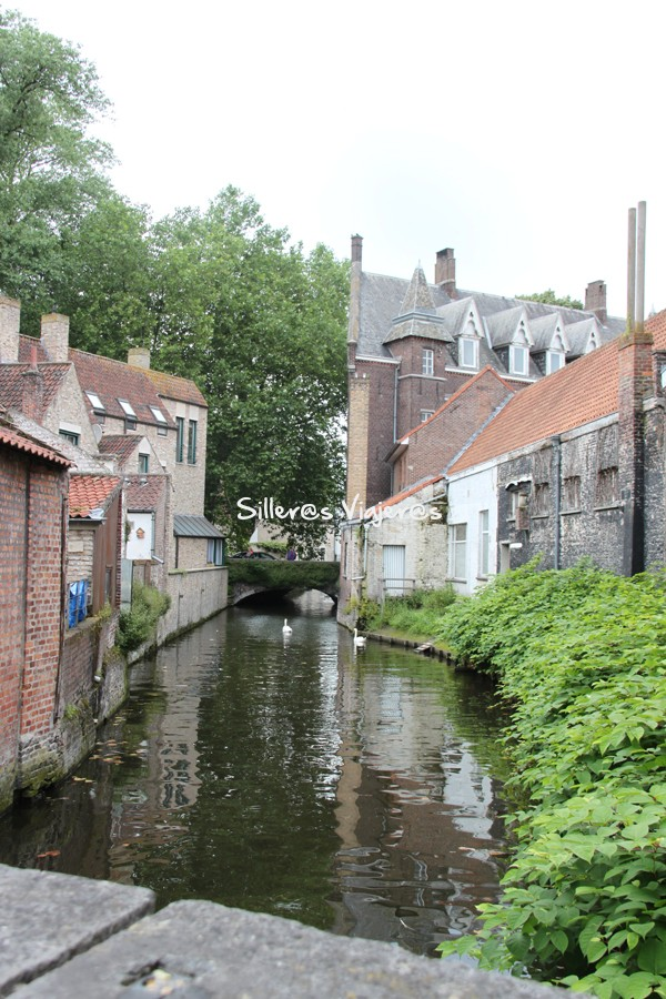 Lugares en la ciudad de Brujas.