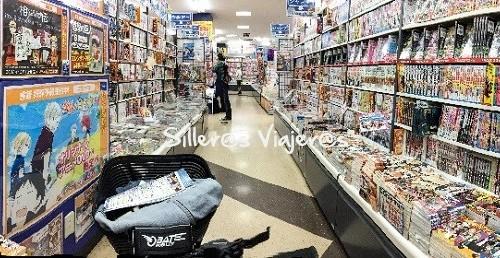 Panorámica de una tienda anime en Osaka