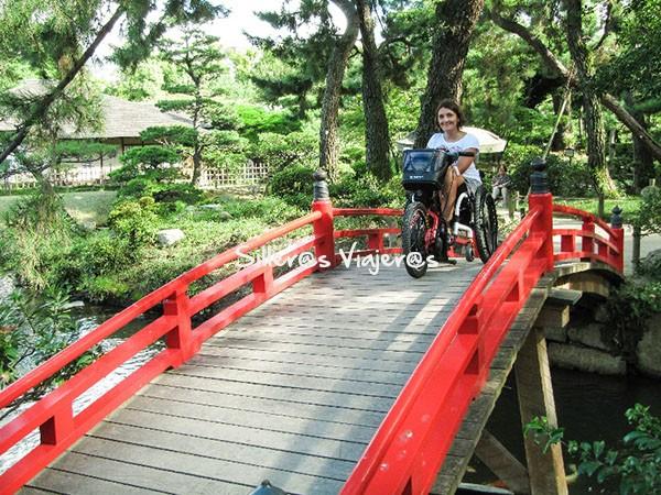 Jardín japonés Shukkein, recorrido principal accesible.