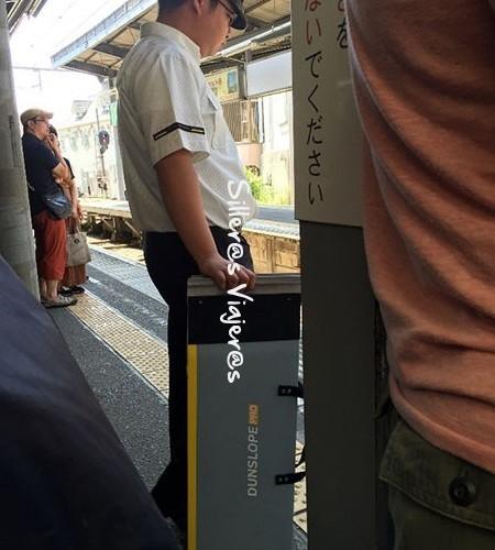 Rampa para subir al tren