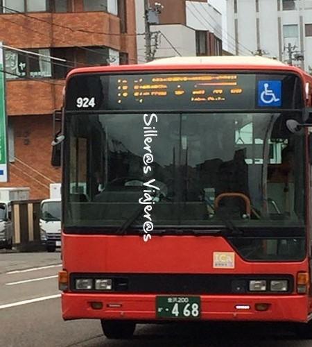 Señálización autobus adaptado