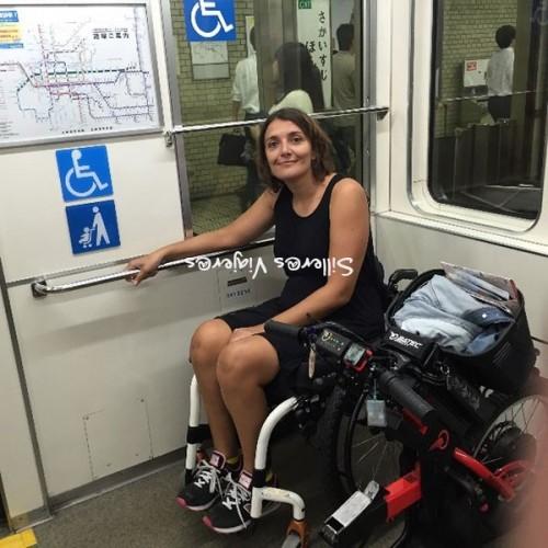 Señalización vagón adaptado en metro